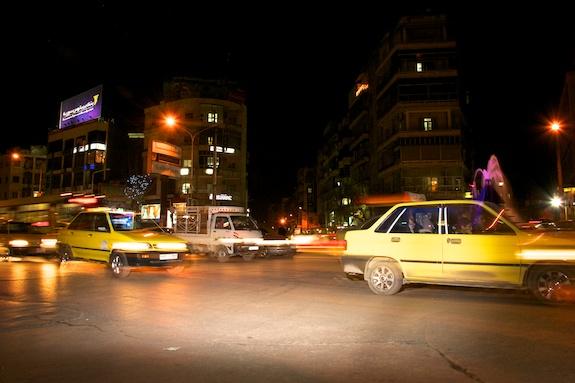 cabs in Aleppo