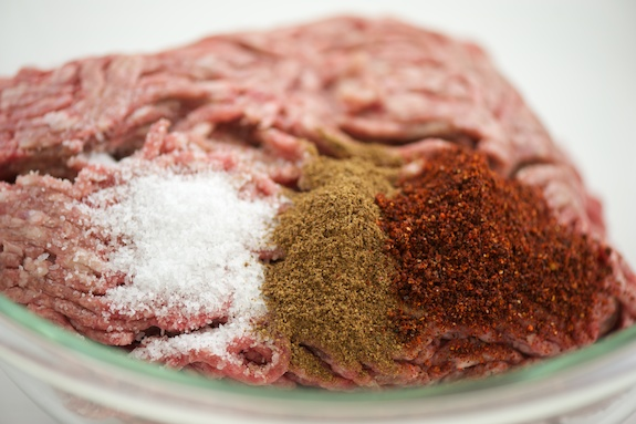 simply seasoned: salt, allspice, paprika