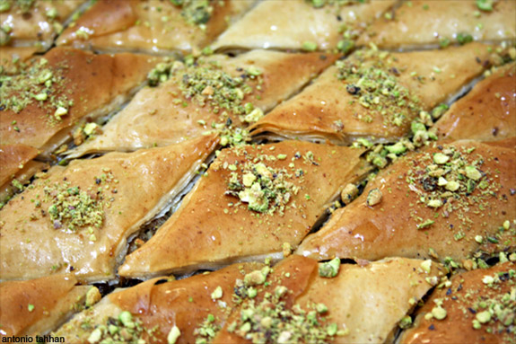Baklava with Mom
