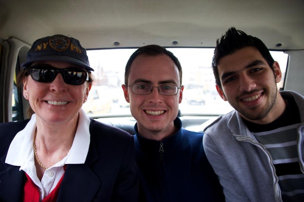 Aleppo cab ride