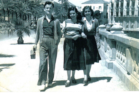 Aleppo circa 1954 (grandmother is on the right)