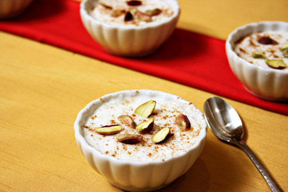 Muhallebi rice pudding with cinnamon international food recipes ingredients forumfinder Choice Image