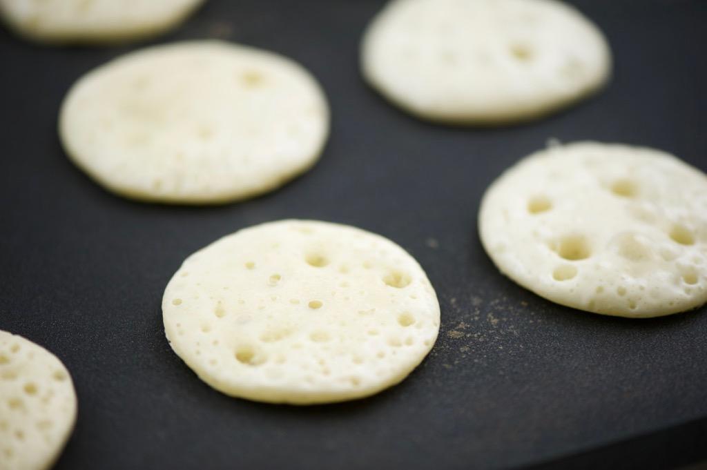 tiny qatayef/pancakes
