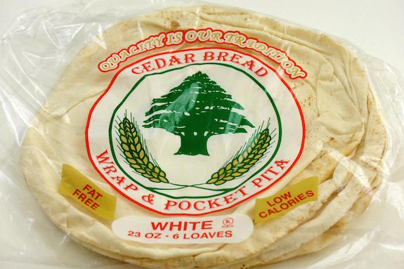 thin pita bread