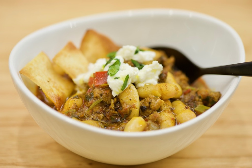 Syrian-Inspired Lamb Chili